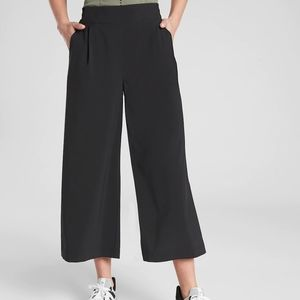 Athleta Brooklyn wide Leg crop Pant